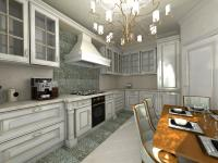 Кухня в классическом стиле, проект Нью Йорк