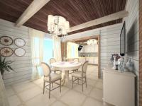 Кухня в стиле кантри, проекта Дом у леса
