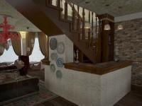 Дизайн проект ресторана Чилим в Екатеринрубге