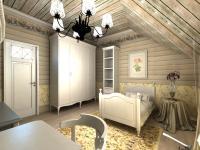 Детские комнаты в стиле кантри, проект Дом у леса