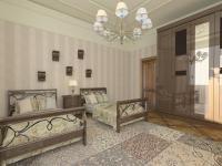 Спальня в проекте Красное Вино