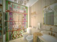 Ванная в проекте квартира в г. Нягань
