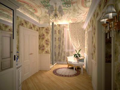 Дизайн прокт квартиры в г. Нягань